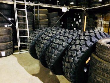 Die neuen Reifen
