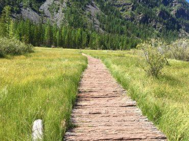 Weg zum Geyzernoye Ozero