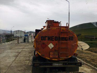 Grenzposten Mongolei