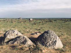 Mongolei auf dem Weg zur Gobi