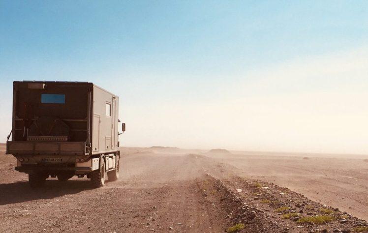 Sandsturm in der Gobi