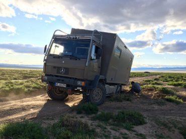 Festgefahren in der Gobi