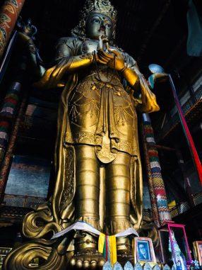 Gandan Tegchenling Monastery