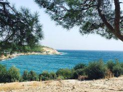 Stellplatz am Meer
