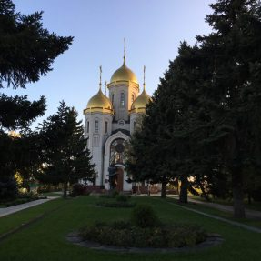 Wolgograd am Mamajew Kurgan