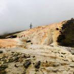 Attraktion nahe der georgisch-russischen Grenze: Mineralwasserquelle an der Heerstraße, der Verbindungsstraße zwischen Georgien und Russland