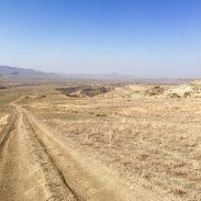 Im Vashlovani Nationalpark in der Nähe der Matschvulkane