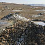 Matschvulkane im Vashlovani Nationalpark