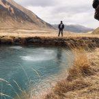 Farbenfrohes Truso Valley: am sprudelndem Mineralsee