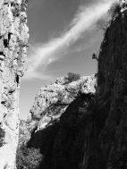 Klettern im Gebiet Olympos