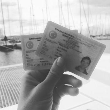 Unsere ID-Cards für die Türkei (Ikamet)