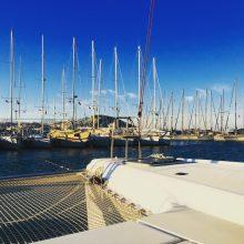 Ausblick vom Lieblingsplatz in den 4 Monaten Marinaleben