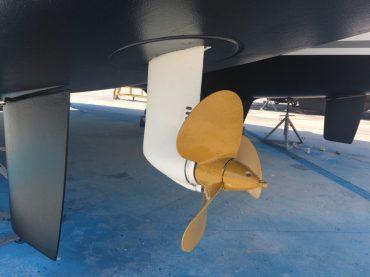 Antifouling auch für die Propeller