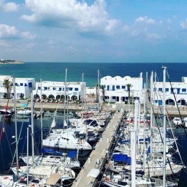 Erstes Etappenziel: Marina Monastir, Tunesien