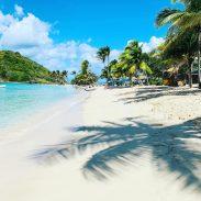 Am Strand von Mayreau