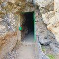 Tunnel auf Wanderung bei Los Gigantes