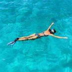 Schnorcheln in der Karibik: man muss gar nicht abtauchen...