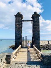 Zugbrücke des Castillo de San Gabriel, Arrecife