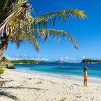 Auf Jamesby Island, Tobago Cays: der Captain hält Ausschau