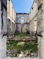 Ruinen des alten Krankhausgeländes