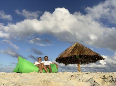 Sundowner auf Mopion Island