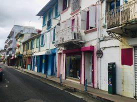 Innenstadt von Fort de France