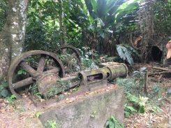 L'habitation d'Anse Couleuvre: ein Teil des ehemaligen Maschinenparks