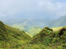 Aussicht vom Mont Pelée