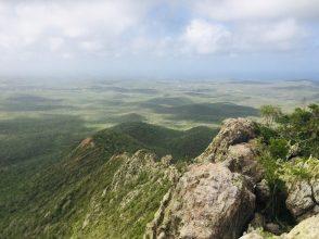 Blick vom Berg Saint Christoffel