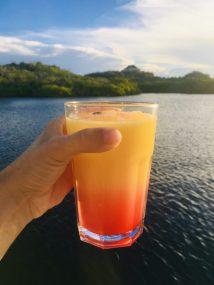 Prost! Vodka O mit Grenadine